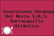 Inversiones Hormiga Del Norte S.A.S. Barranquilla Atlántico