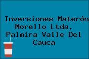 Inversiones Materón Morello Ltda. Palmira Valle Del Cauca