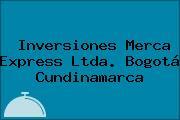Inversiones Merca Express Ltda. Bogotá Cundinamarca