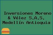 Inversiones Moreno & Vélez S.A.S. Medellín Antioquia