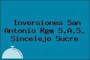 Inversiones San Antonio Rgm S.A.S. Sincelejo Sucre