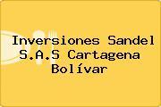 Inversiones Sandel S.A.S Cartagena Bolívar