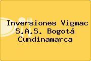 Inversiones Vigmac S.A.S. Bogotá Cundinamarca