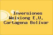 Inversiones Weixiong E.U. Cartagena Bolívar