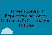 Inversiones Y Representaciones Silca S.A.S. Ibagué Tolima