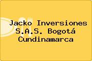 Jacko Inversiones S.A.S. Bogotá Cundinamarca