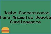 Jambo Concentrados Para Animales Bogotá Cundinamarca