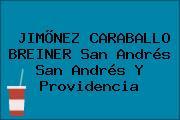 JIMÕNEZ CARABALLO BREINER San Andrés San Andrés Y Providencia