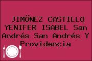 JIMÕNEZ CASTILLO YENIFER ISABEL San Andrés San Andrés Y Providencia