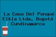 La Casa Del Ponqué Elkla Ltda. Bogotá Cundinamarca