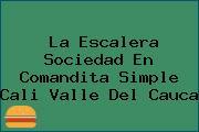 La Escalera Sociedad En Comandita Simple Cali Valle Del Cauca