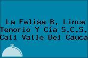 La Felisa B. Lince Tenorio Y Cía S.C.S. Cali Valle Del Cauca
