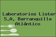 Laboratorios Lister S.A. Barranquilla Atlántico