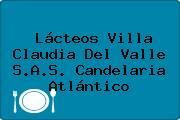 Lácteos Villa Claudia Del Valle S.A.S. Candelaria Atlántico