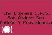 Lhm Express S.A.S. San Andrés San Andrés Y Providencia