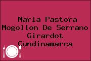 Maria Pastora Mogollon De Serrano Girardot Cundinamarca