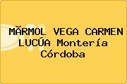 MÃRMOL VEGA CARMEN LUCÚA Montería Córdoba