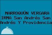 MARROQUÚN VERGARA IRMA San Andrés San Andrés Y Providencia