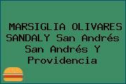 MARSIGLIA OLIVARES SANDALY San Andrés San Andrés Y Providencia