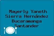 Mayerly Yaneth Sierra Hernández Bucaramanga Santander