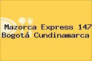 Mazorca Express 147 Bogotá Cundinamarca