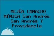 MEJÚA CAMACHO MµNICA San Andrés San Andrés Y Providencia