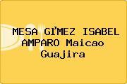 MESA GµMEZ ISABEL AMPARO Maicao Guajira