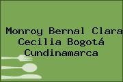 Monroy Bernal Clara Cecilia Bogotá Cundinamarca