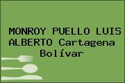 MONROY PUELLO LUIS ALBERTO Cartagena Bolívar