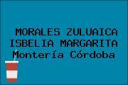 MORALES ZULUAICA ISBELIA MARGARITA Montería Córdoba