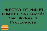 NARCISO DE MANUEL DOROTHY San Andrés San Andrés Y Providencia