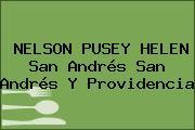 NELSON PUSEY HELEN San Andrés San Andrés Y Providencia