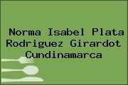 Norma Isabel Plata Rodriguez Girardot Cundinamarca