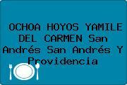 OCHOA HOYOS YAMILE DEL CARMEN San Andrés San Andrés Y Providencia