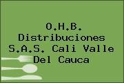 O.H.B. Distribuciones S.A.S. Cali Valle Del Cauca
