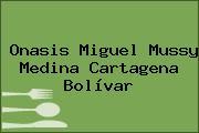 Onasis Miguel Mussy Medina Cartagena Bolívar