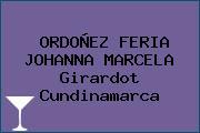 ORDOÑEZ FERIA JOHANNA MARCELA Girardot Cundinamarca