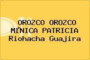 OROZCO OROZCO MµNICA PATRICIA Riohacha Guajira