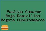 Paellas Camaron Rojo Domicilios Bogotá Cundinamarca
