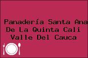 Panadería Santa Ana De La Quinta Cali Valle Del Cauca