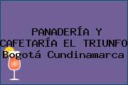 PANADERÍA Y CAFETARÍA EL TRIUNFO Bogotá Cundinamarca