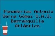 Panaderías Antonio Serna Gómez S.A.S. Barranquilla Atlántico