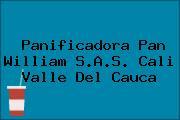 Panificadora Pan William S.A.S. Cali Valle Del Cauca
