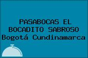 PASABOCAS EL BOCADITO SABROSO Bogotá Cundinamarca