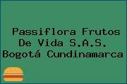 Passiflora Frutos De Vida S.A.S. Bogotá Cundinamarca