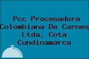 Pcc Procesadora Colombiana De Carnes Ltda. Cota Cundinamarca