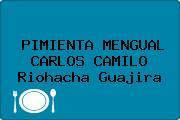 PIMIENTA MENGUAL CARLOS CAMILO Riohacha Guajira
