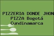PIZZERIA DONDE JHON PIZZA Bogotá Cundinamarca