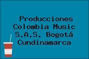 Producciones Colombia Music S.A.S. Bogotá Cundinamarca