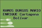 RAMOS BURGOS MARIO ENRIQUE Cartagena Bolívar